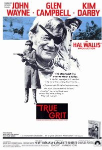 TRUE GRIT 1969 Move Poster